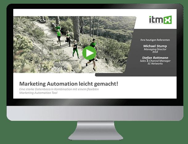 Webinar: Marketing Automation leicht gemacht!