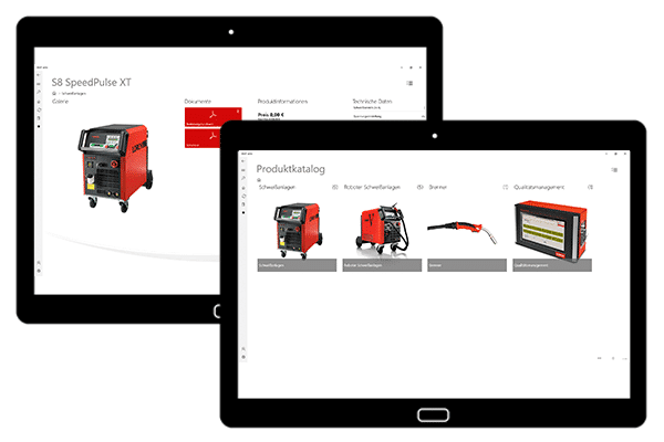 itmX product Catalog Tablet