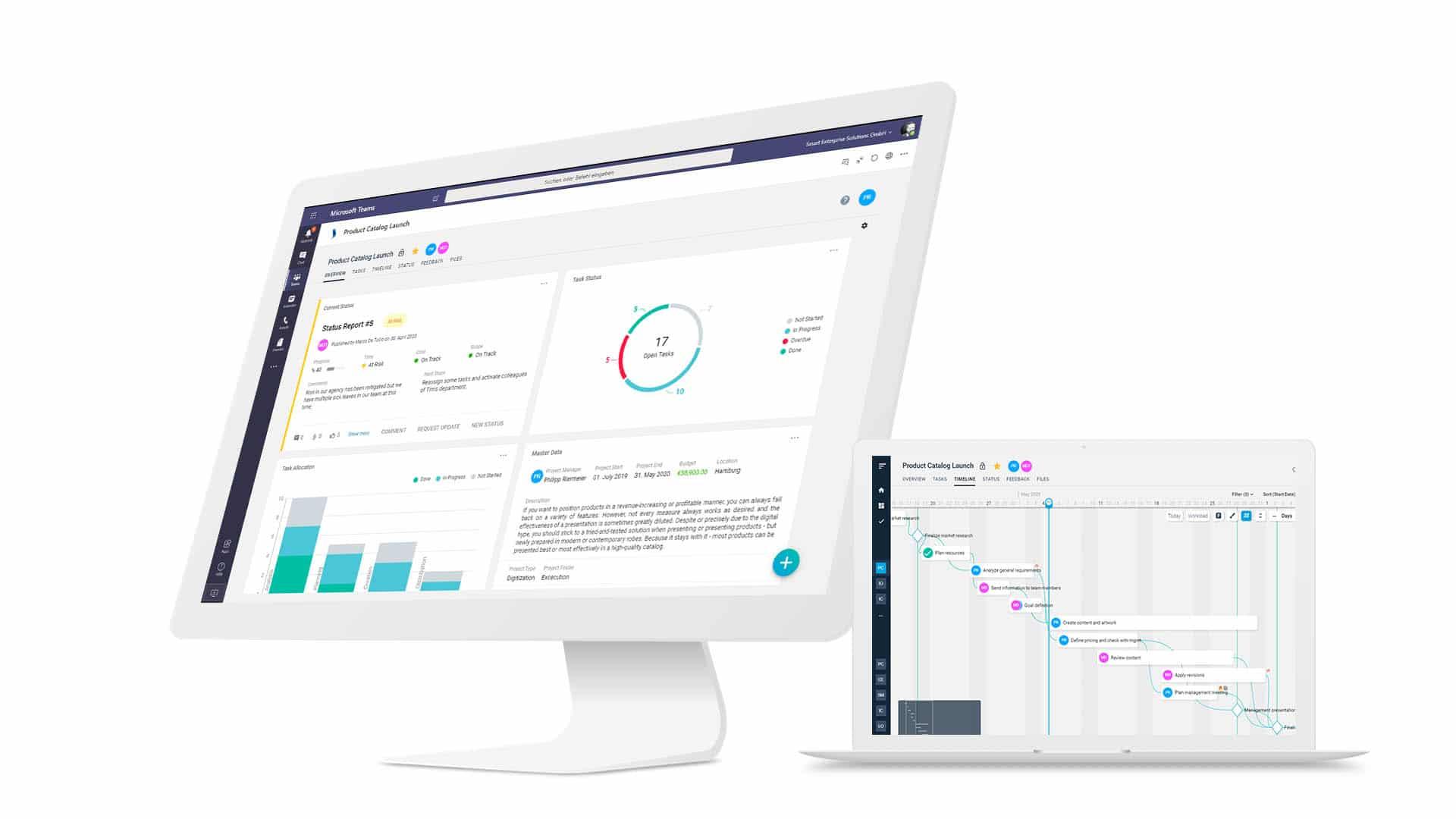 projectXperience Smenso Cloud Screen