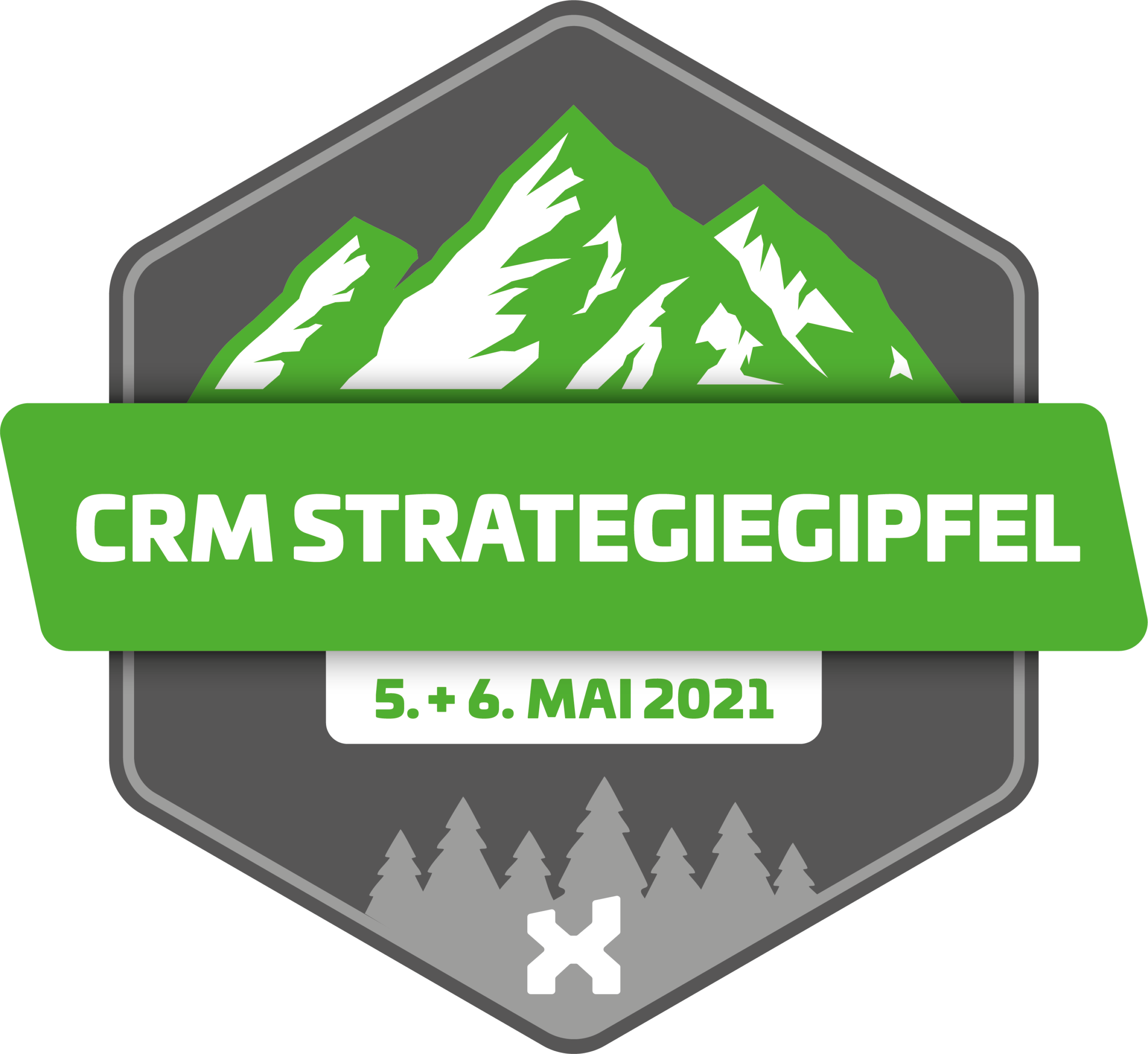itmX - crm Strategiegipfel Badge